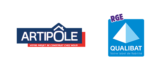 Logo Artipole + RGE Qualibat