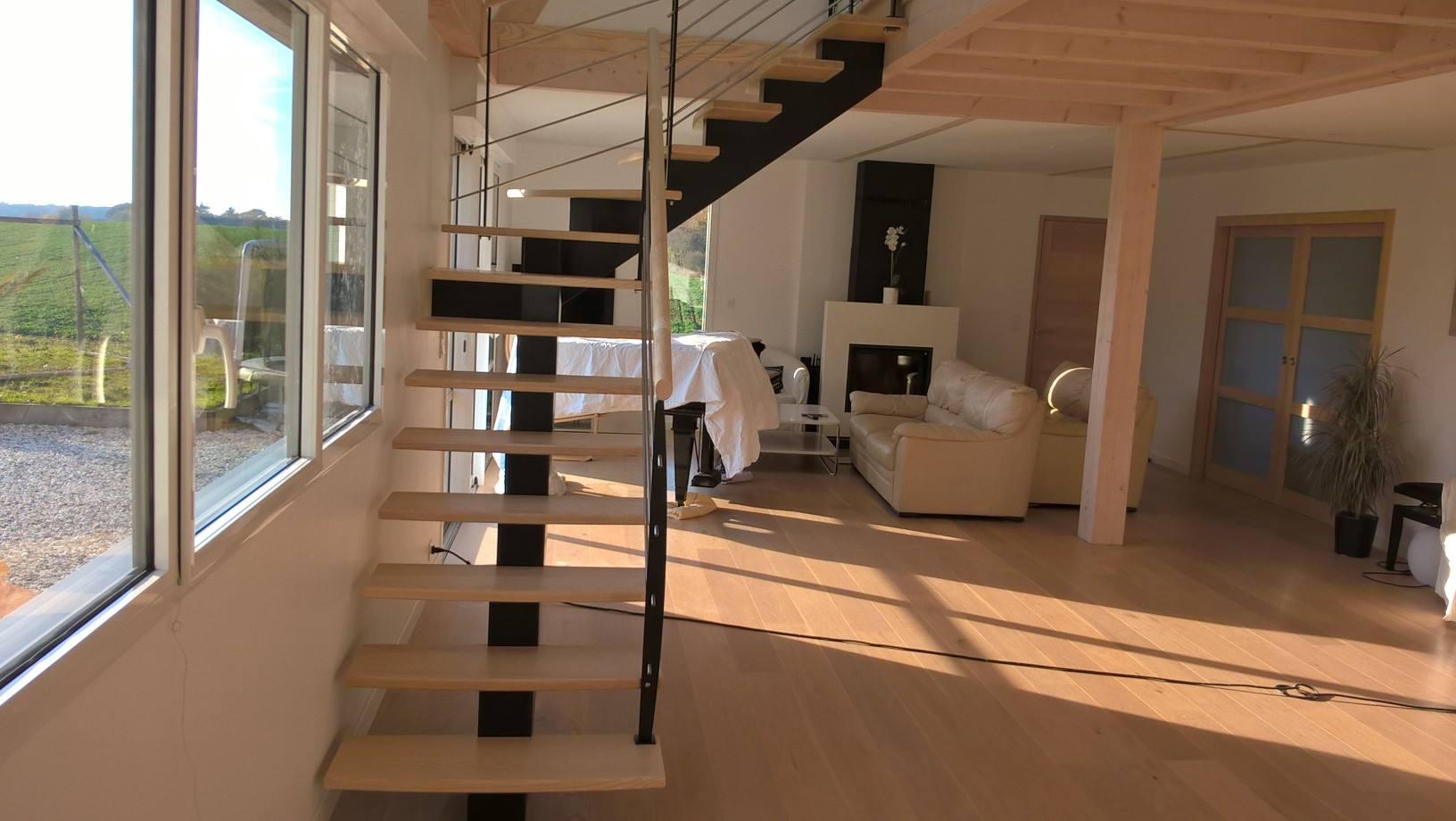 fabricant d'escaliers bois métal sur vannes Pontivy baud