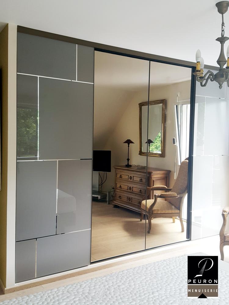 aménagement chambres, dressings et placards Portes de placard 4 vantaux