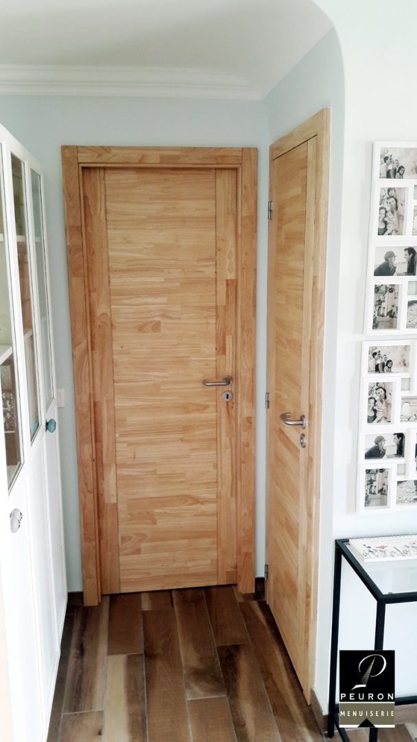fabricant portes intérieur cuisine bois sur Vannes-Lorient-Pontivy