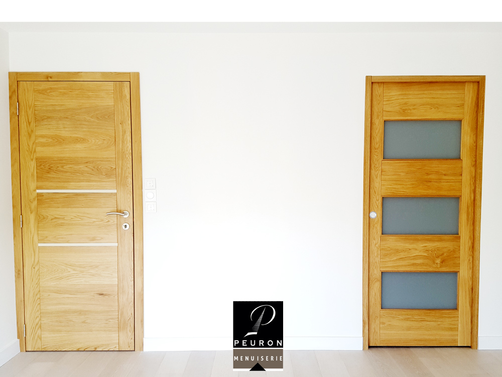 fabricant portes intérieur bois sur Vannes-Lorient-Pontivy bloc-porte, paumelles, inox, poignée, rosace