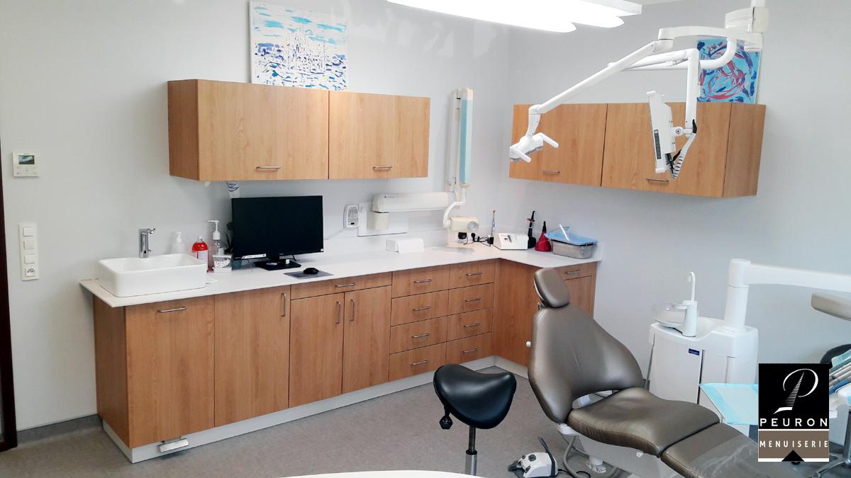 Agencement pour dentiste