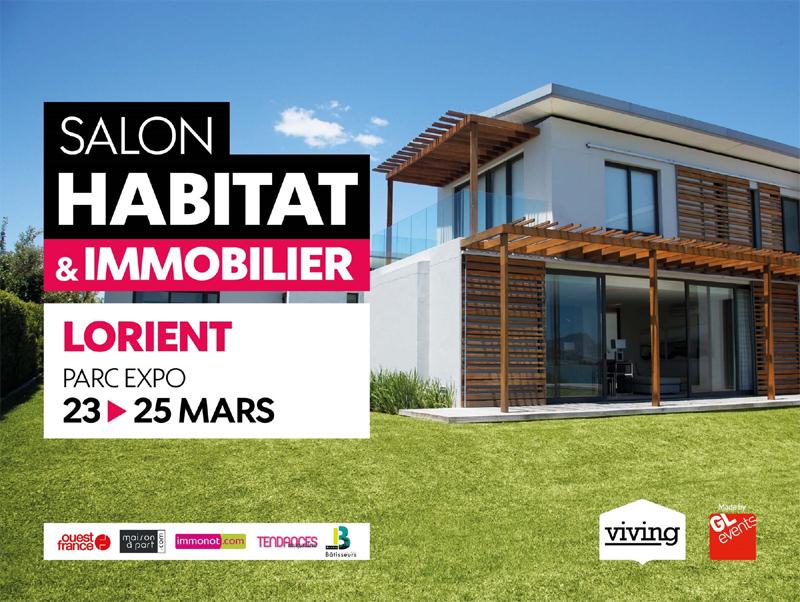 Salon habitat et immobilier viving lorient du samedi 23 mars 2019 au lundi 25 mars 2019 - Salon de l habitat montpellier ...